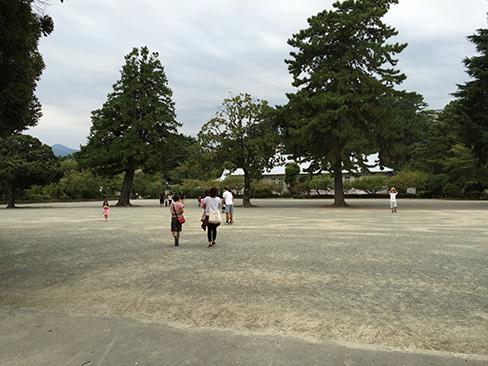 小田原城・二の丸広場_H27.09.22撮影
