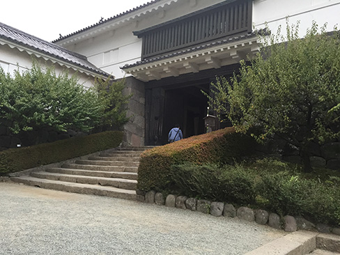 小田原城・常盤木門_H27.09.22撮影