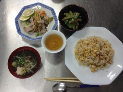 2015-08-29 11.17.29料理教室 チャーハン他