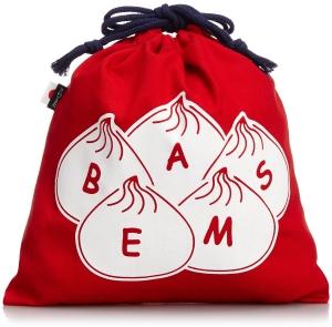 秋旅人気の旅行先、台湾旅行にぴったりのトラベルグッツ、BEAMSの小籠包巾着