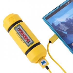 海外旅行の必需品、ポータブル携帯充電器はかわいいディズニーモンスターズインク