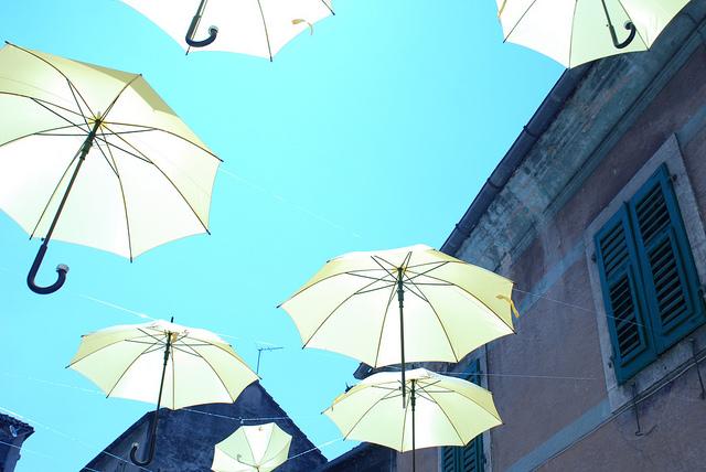 撥水機能が高くUVカットの傘Unnurellaを海外旅行のトラベルグッツとして