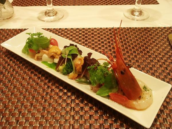 3魚介サラダ20150911