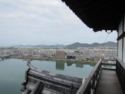 犬山城からの眺め①
