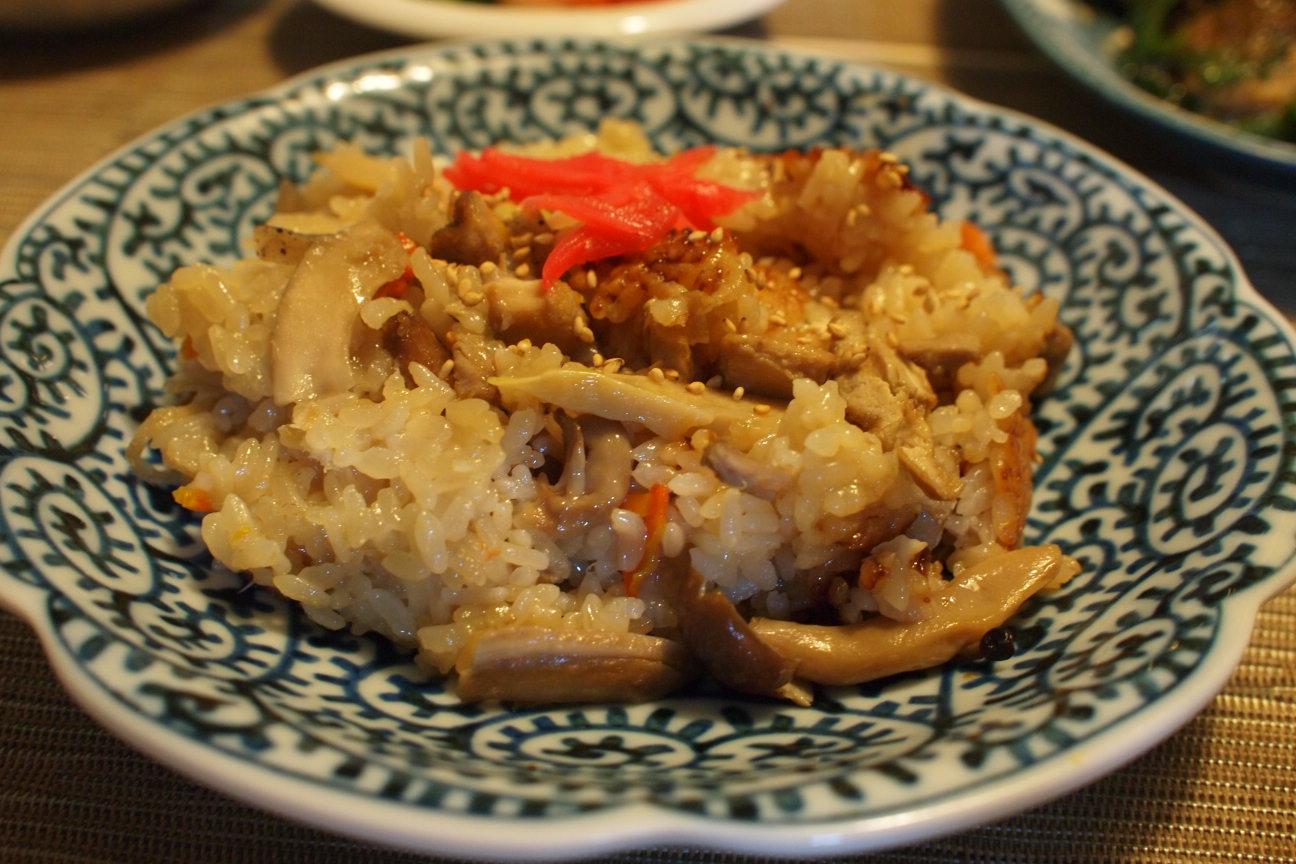 炊き込みご飯 (2)