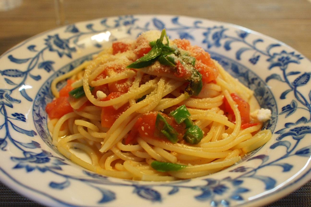 トマトパスタ (2)