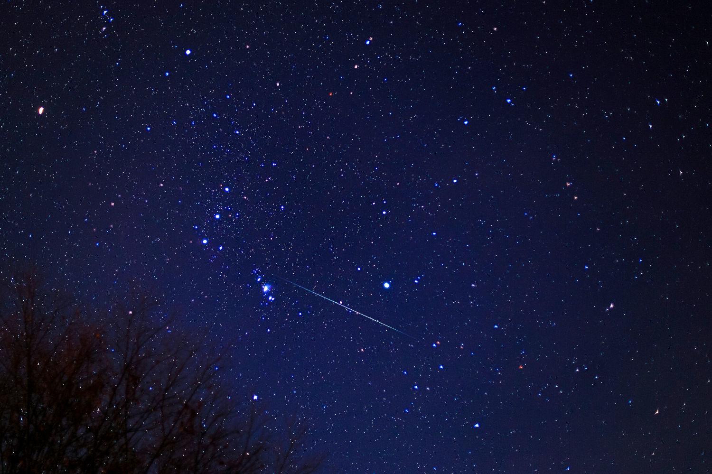 オリオン座流星群1