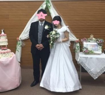 素敵な結婚式でした