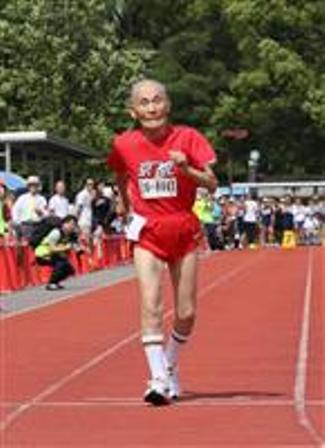 105歳のスプリンター