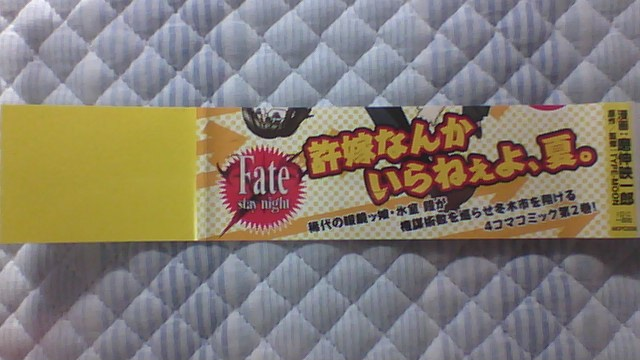 氷室の天地 Fate/school life 2巻 帯A