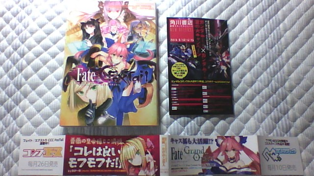 Fate EXTRA CCC FoxTail 3巻