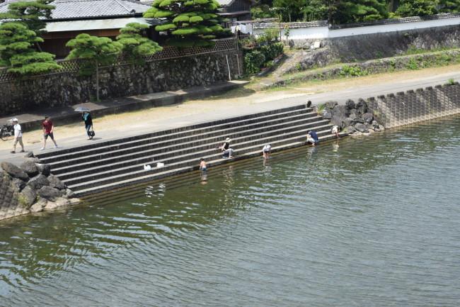 五十鈴川 洗い場