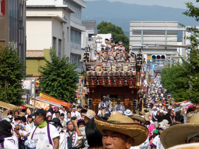 三島 山車シャギリ3