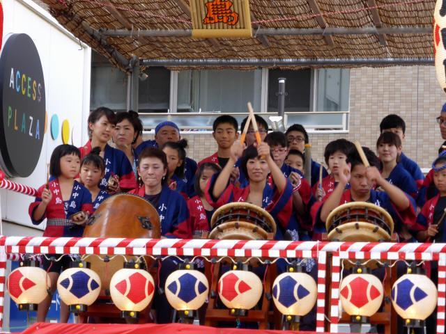 三島 山車シャギリ5