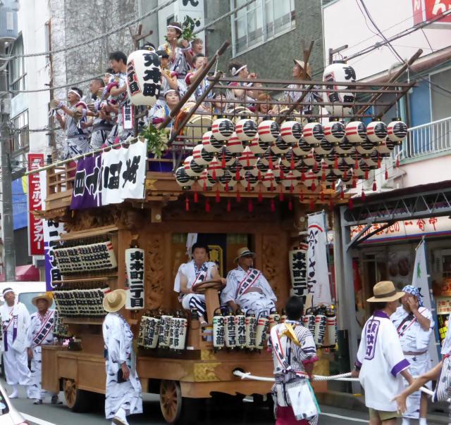 三島 山車シャギリa
