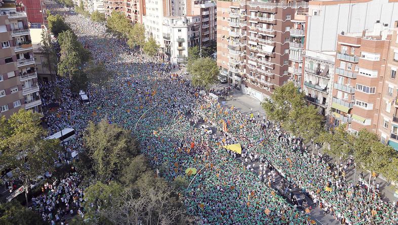 カタロニアの独立運動