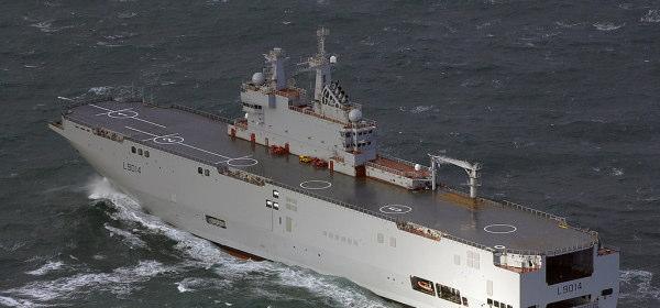 フランス政府がロシアへの輸出中止のミストラル級揚陸艦2隻をエジプトに売却決定