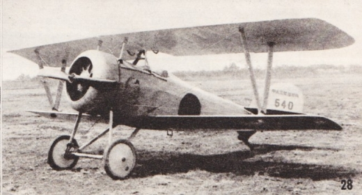 【帝国陸軍】甲式三型練習機ニューポール24C1