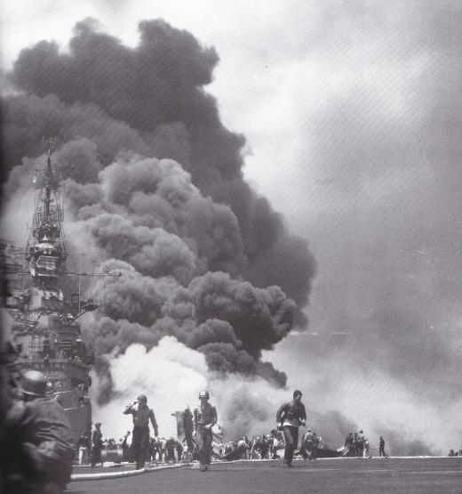 菊水6号作戦1945年5月11日バンカーヒル2