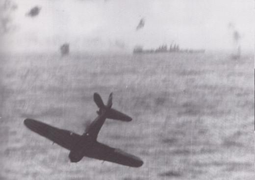 菊水6号作戦1945年5月14日突入するゼロ戦