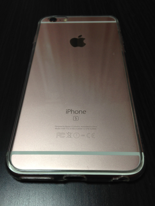 iPhone6s plusピンクゴールド