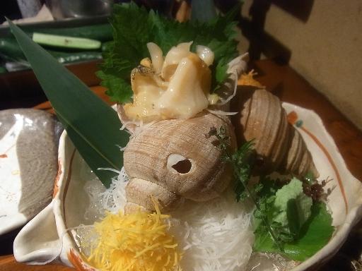 つぶ貝のお造り