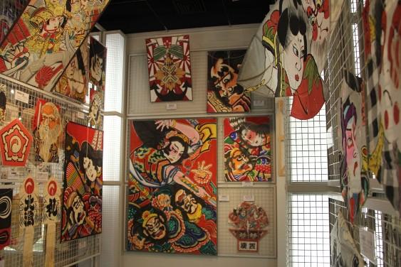 日本各地の凧