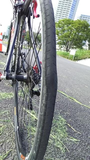 タイヤ変形