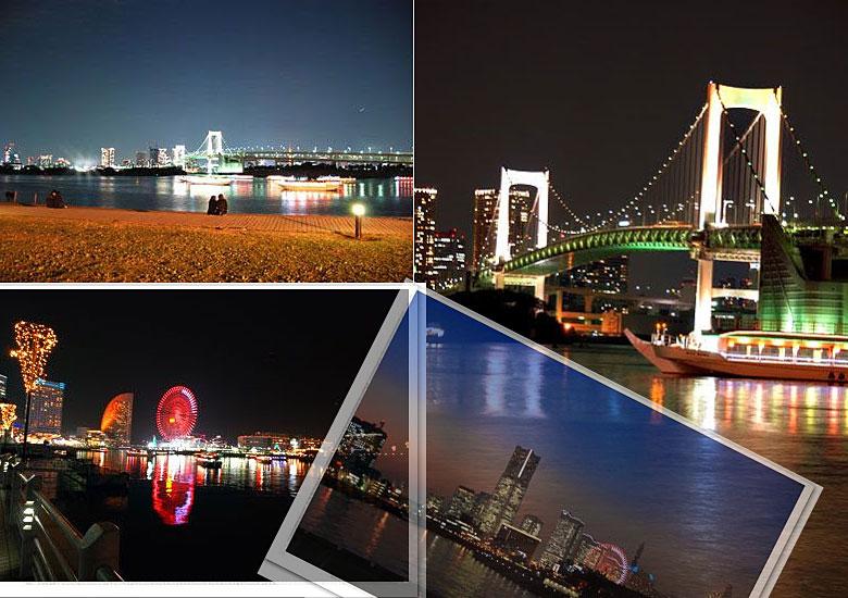 横浜の夜景 上江田武信