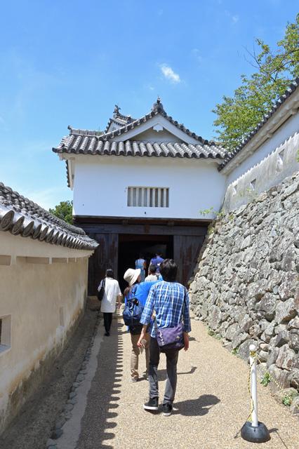 姫路城「にの門」