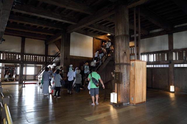 姫路城(大天守3階)