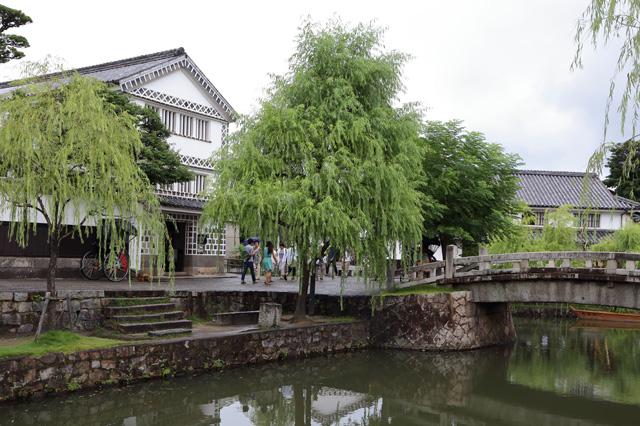 倉敷川・中橋