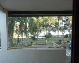 ユーカリホテルの室内からの眺め