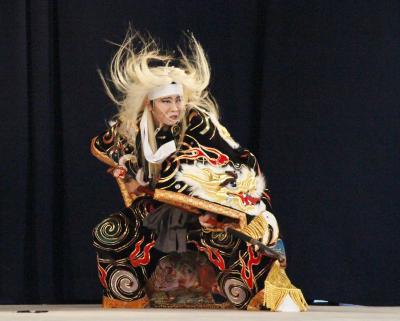吉田高等学校神楽部 滝夜叉姫1