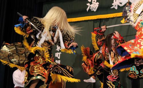 高井神楽団 滝夜叉姫2