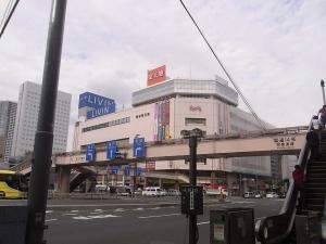 錦糸町駅前交差点は歩道橋しかない