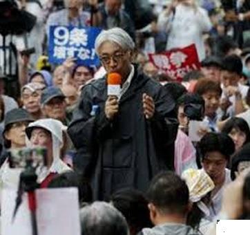 2015-9-12国会前830デモでの坂本竜一