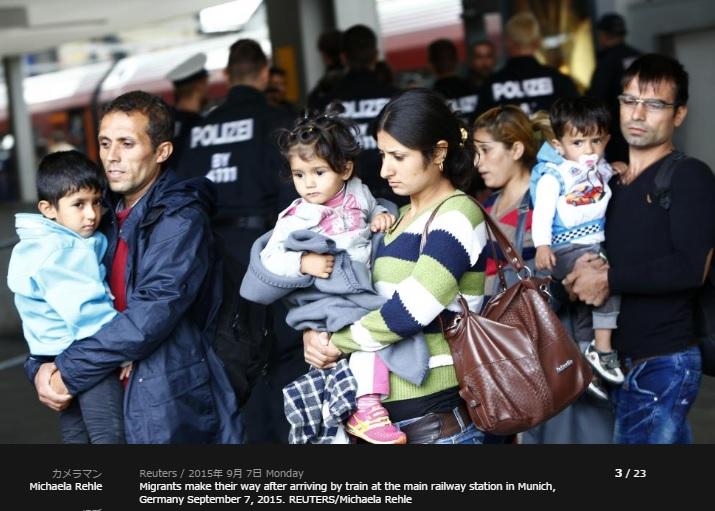 2015-9-12ドイツに到着した難民1