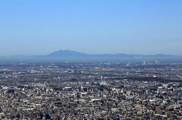2015-9-28スカイツリーから見た筑波山
