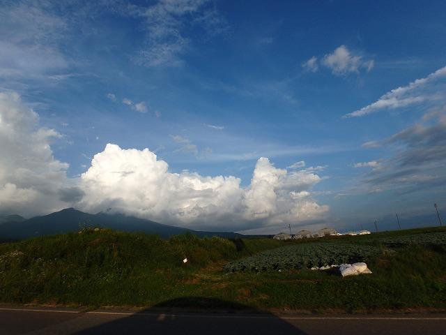 20150810エコーラインの夏雲八ヶ岳 (2)