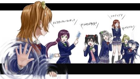 飛び出す高坂穂乃果4 【ラブライブ!】