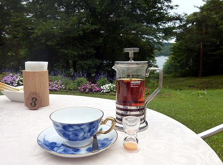 紅茶 ポットサ-ビス