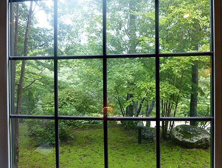 やはり 窓の外は緑