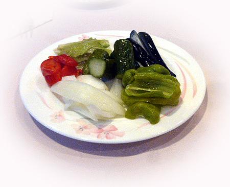 野菜のバルサミコ