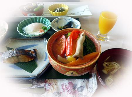 薬膳風野菜ス-プ