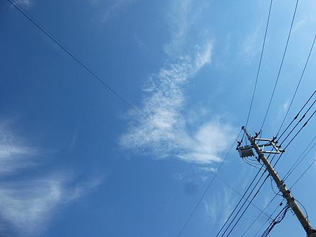 秋空 秋雲
