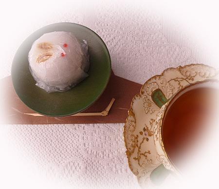 うさぎ上用饅頭&ヌワラエリア