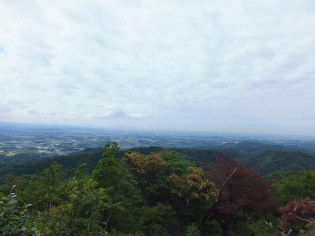 大岩展望台 三河湾、名古屋方面