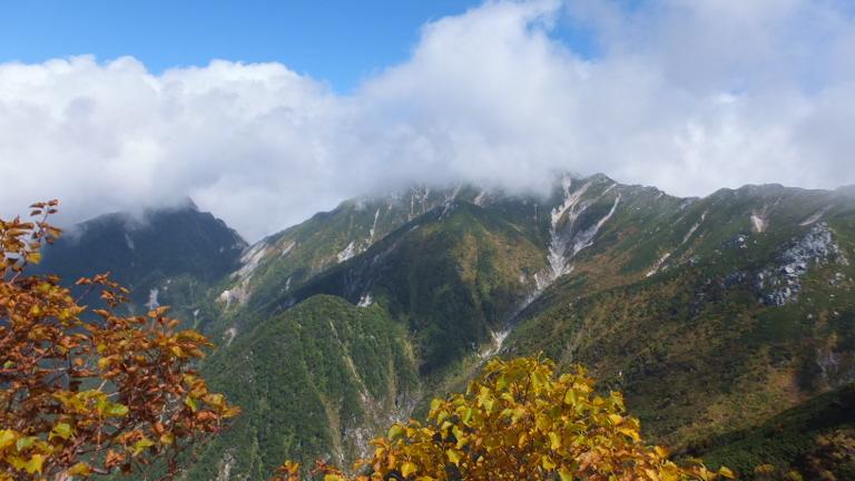 空木岳方面