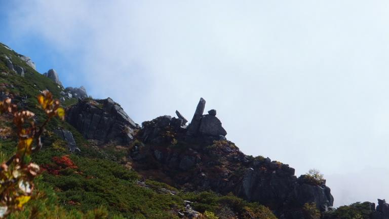 岩の造形美